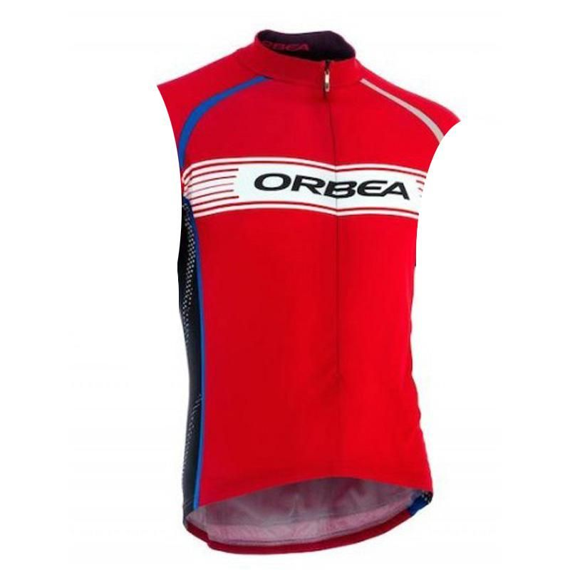 2018 New Orbea Men Cycling Jersey Sleeveless Shirt Breathable Maillot Cycling  Road Bike Bicycle MTB Sportswear 237168f8e