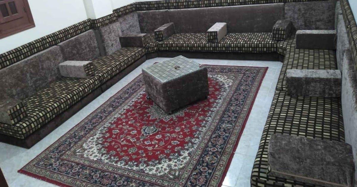 مجلس عربي حديث قعدة عربي حديثة بني مشجر في بيج سادة من احدث انتاجنا Home Decor Decor Rugs