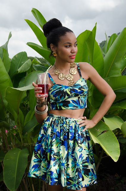 Caribbean Party Attire for Ladies in Fresh Colors!  |Caribbean Party Clothes