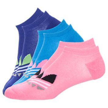 Le adidas originali trifoglio 3 pack no show calzini calzini