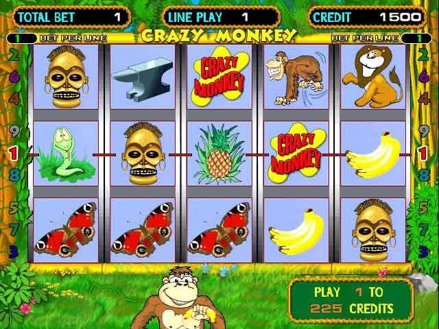 игровые автоматы слоты обезьяны