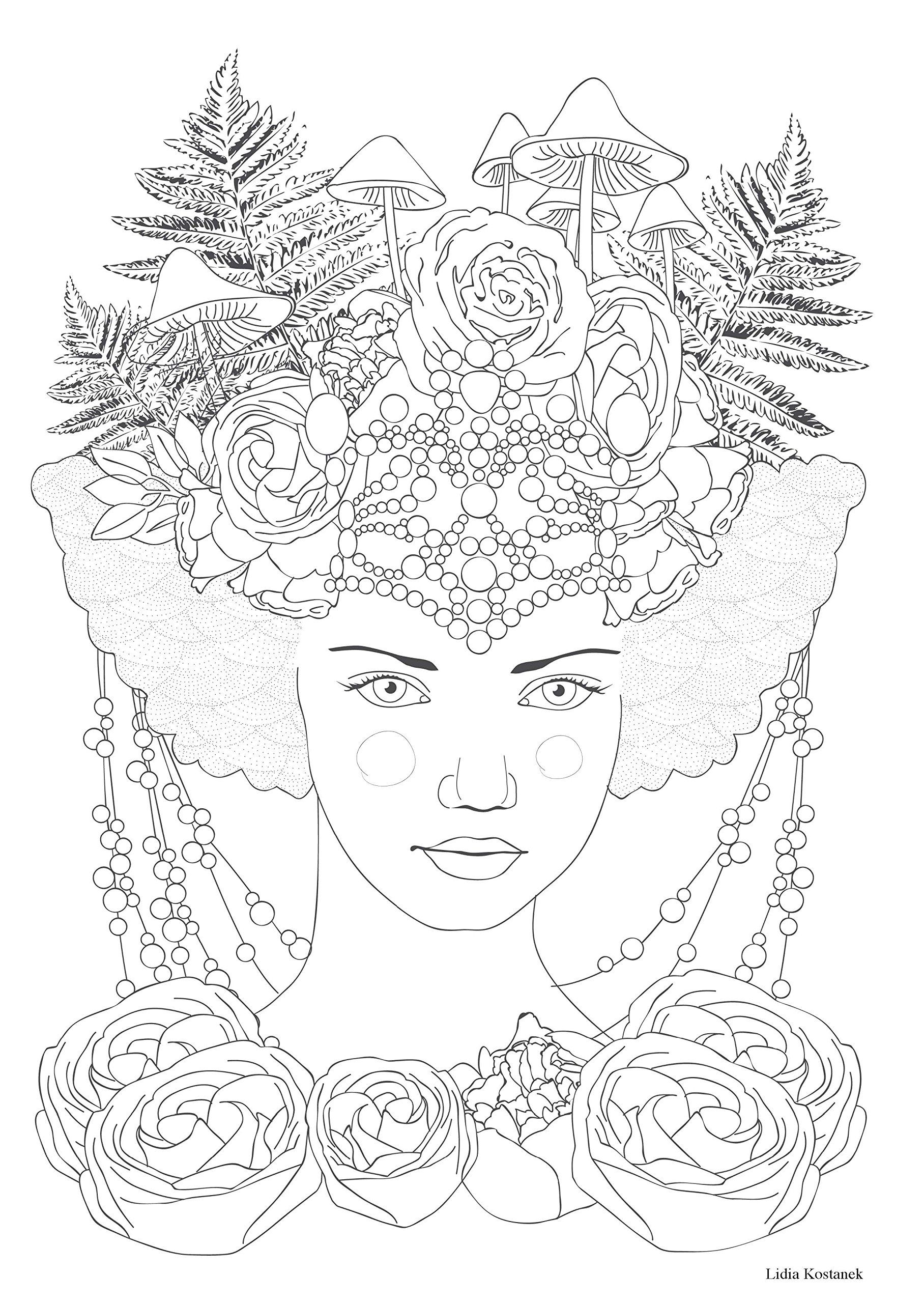 Coloriage coloriage pinterest coloriage coloriage - Dessins anti stress ...