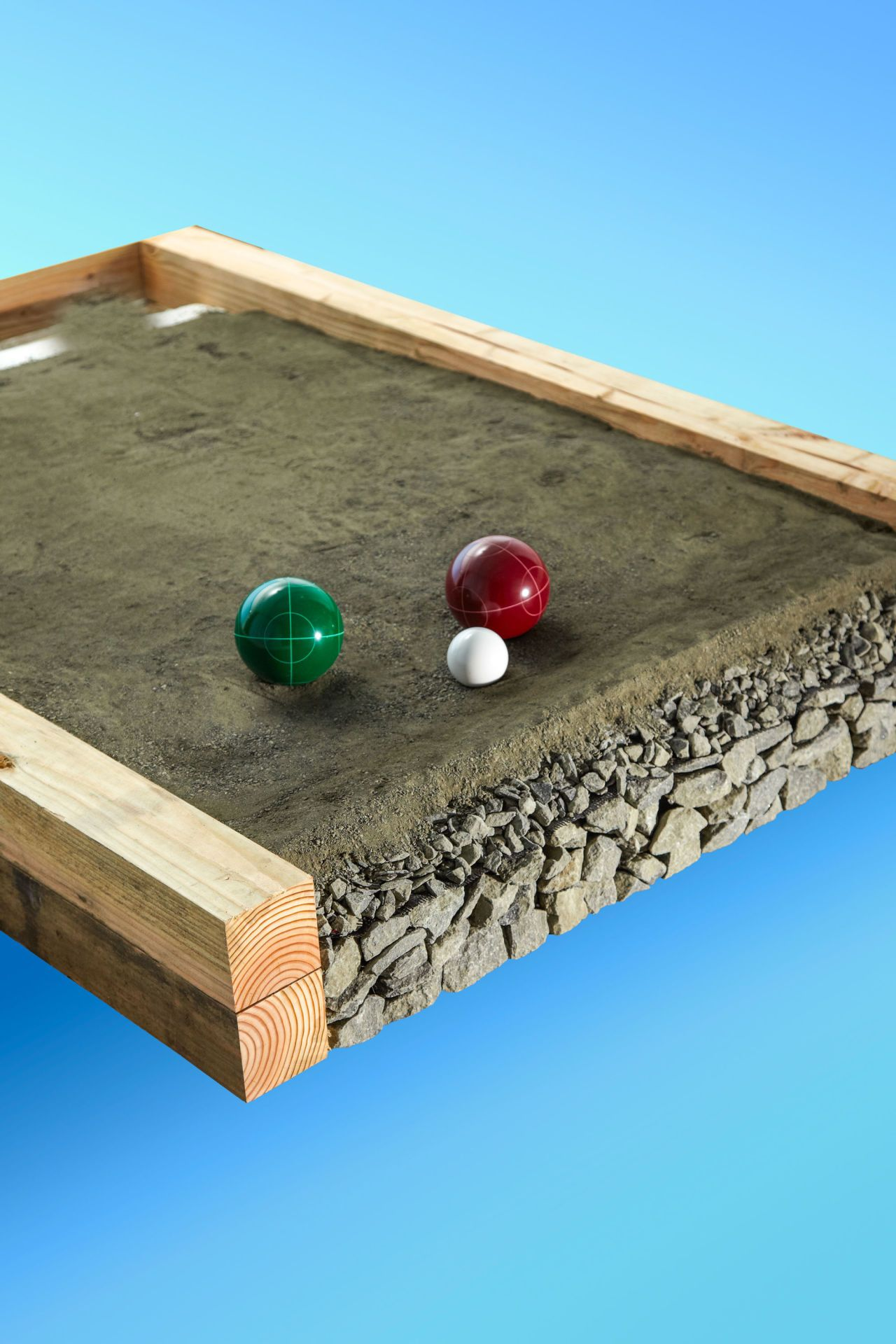 how to build a backyard bocce ball court bocce ball court and