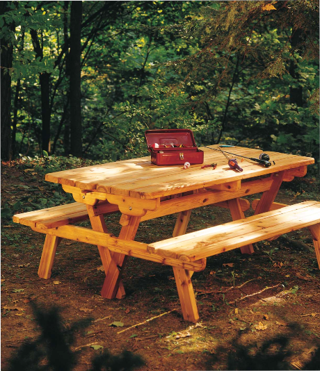 How To Build A Convertable Picnic Table. Woodworking Ideas ...
