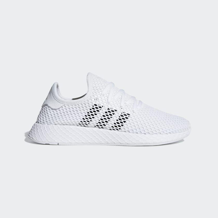 Deerupt Runner Shoes | Runners shoes, Sneakers, White adidas