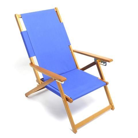 Rio Sc1015 Wood Frame Adjule Beach Chair