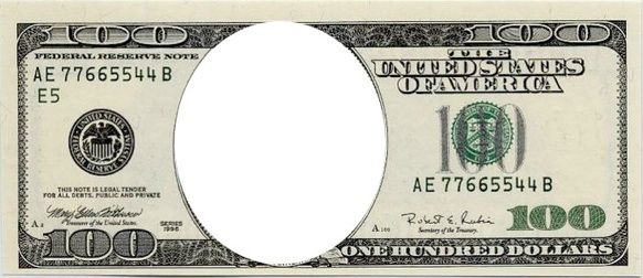 Empty Dollar Bill