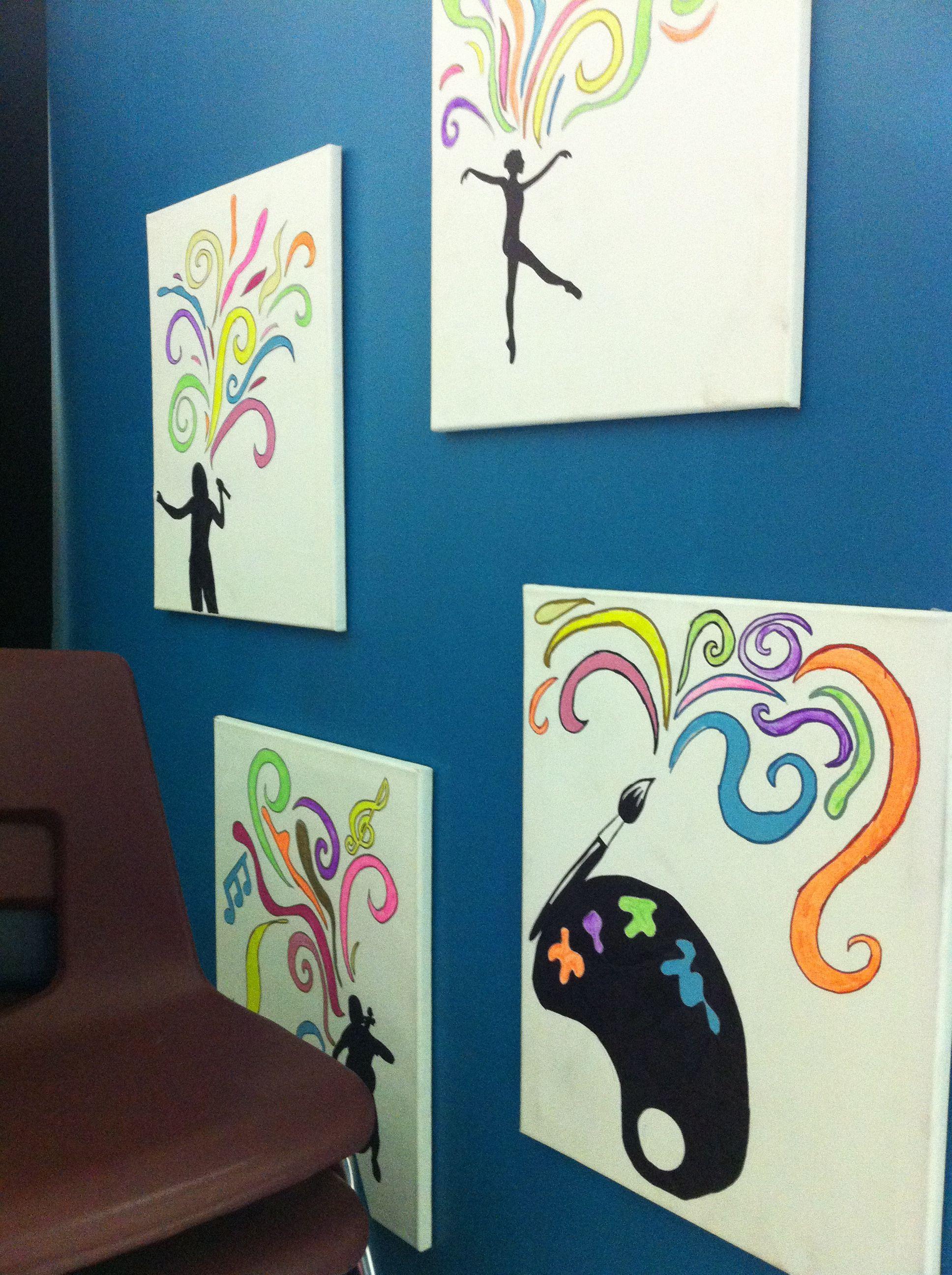 Work Students Created Showcase Arts. Art Show