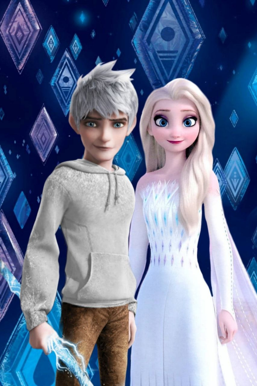 Photo of Jelsa – Elsa and Jack Frost – Frozen 2 / Rotg