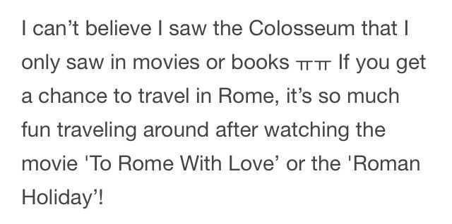 """53/70 Key's Naver Blog """"Europe Over Flowers""""/Rome and Paris Trip Part 1/Author,Photos,Video by KiBum//Translation by @thatcoolcatmeow on Twitter (DO NOT RE-TRANSLATE INTO ANOTHER LANGUAGE)"""