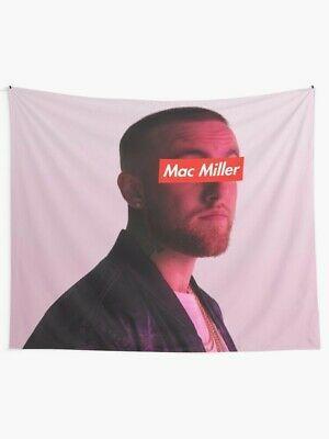 Miller - Rap Wall Tapestry Mac Miller Tapestry Miller - Rap Tapestry #fashion #home #garden #homedcor #tapestries (ebay link) #macmiller