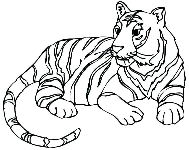 Coloring Pages Tiger Free Tiger Face Coloring Page Tiger Coloring