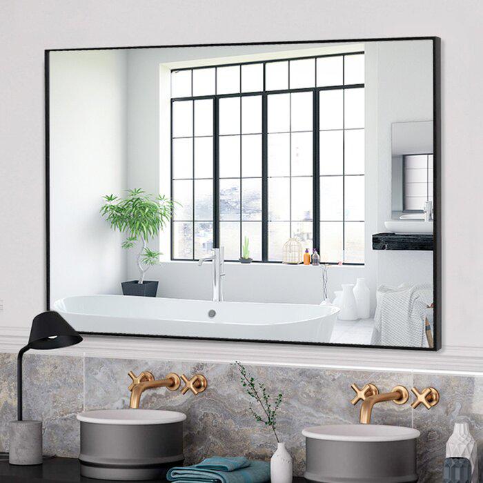 Ayalisse Bathroom Mirror In 2021 Simple Bathroom Small Bathroom Decor Bathroom Mirror