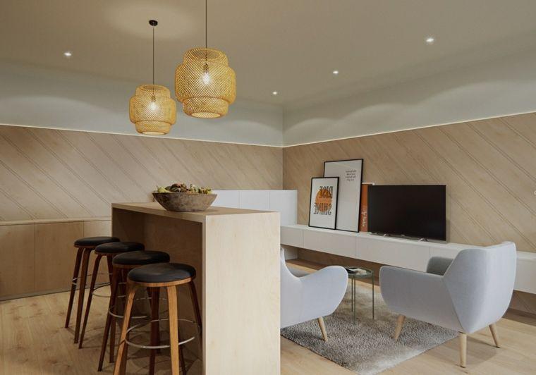 Arredare salotto e sala da pranzo insieme, mobile tv ...
