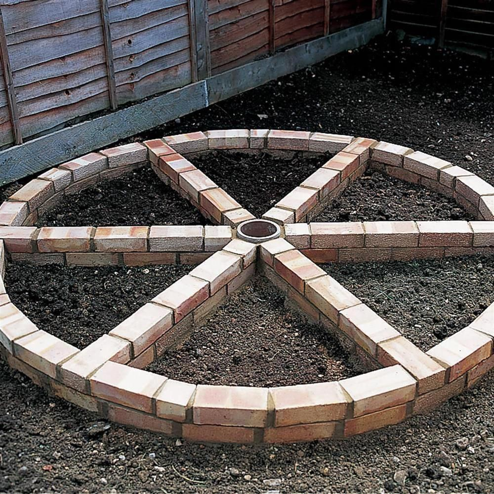 Image result for brick wheel herb garden #gardenplanningvegetable #kräutergartendesign