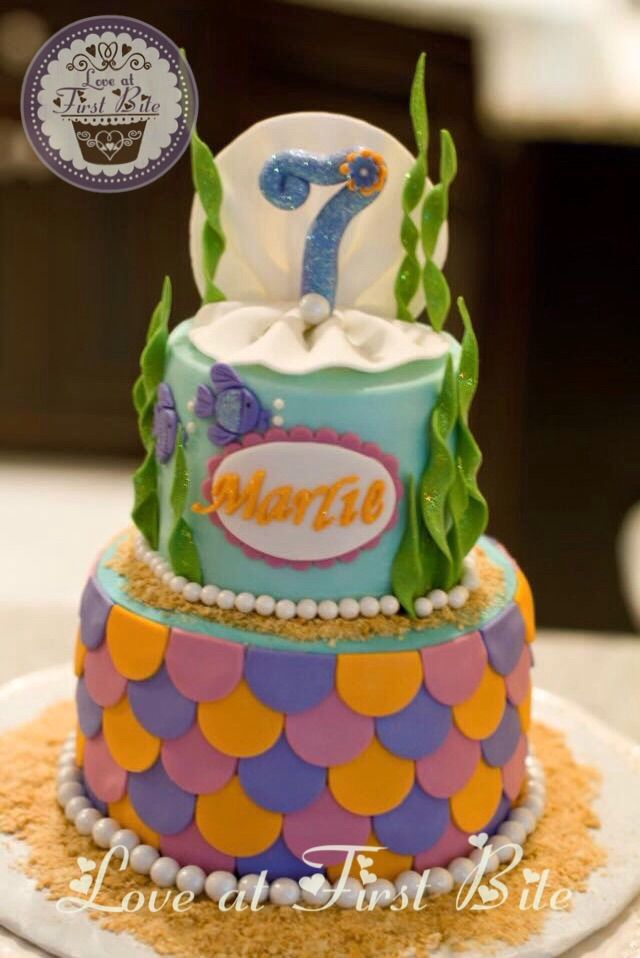 Mermaid Under The Sea Cake By Love At First Bite In Nashville TN