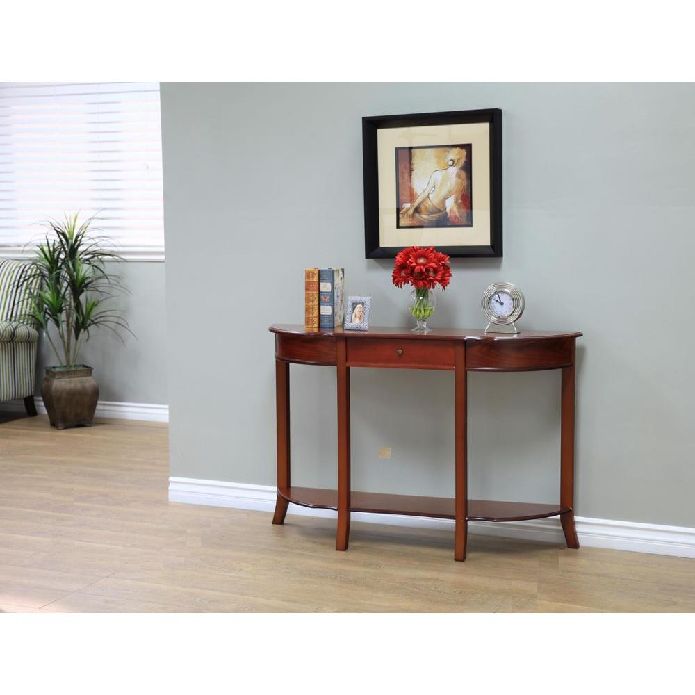 Astounding Megahome Walnut Storage Console Table Products Table Download Free Architecture Designs Scobabritishbridgeorg