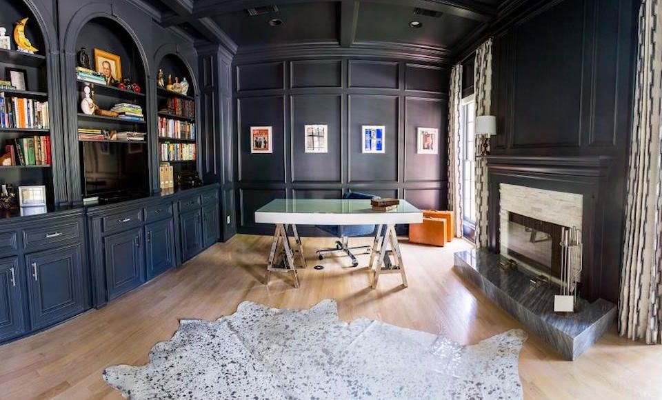 zwarte muren woonkamer inspiratie man man 4   Home   Pinterest