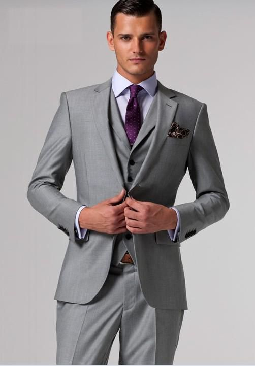 groomsmen wear own grey suits - Google Search | Wedding Outfits ...