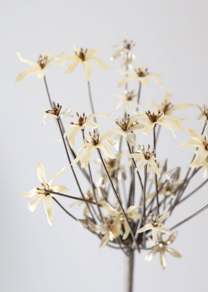 Fake Allium Flowers In Beige Gold 37 In 2020 Allium Flowers Fall Floral Arrangements Fake Flowers