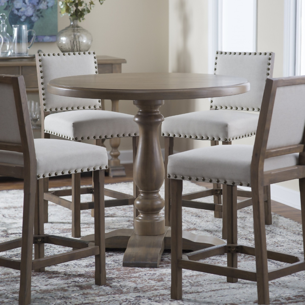 Awesome Dining Room Décor Ideas   Counter height dining table ...