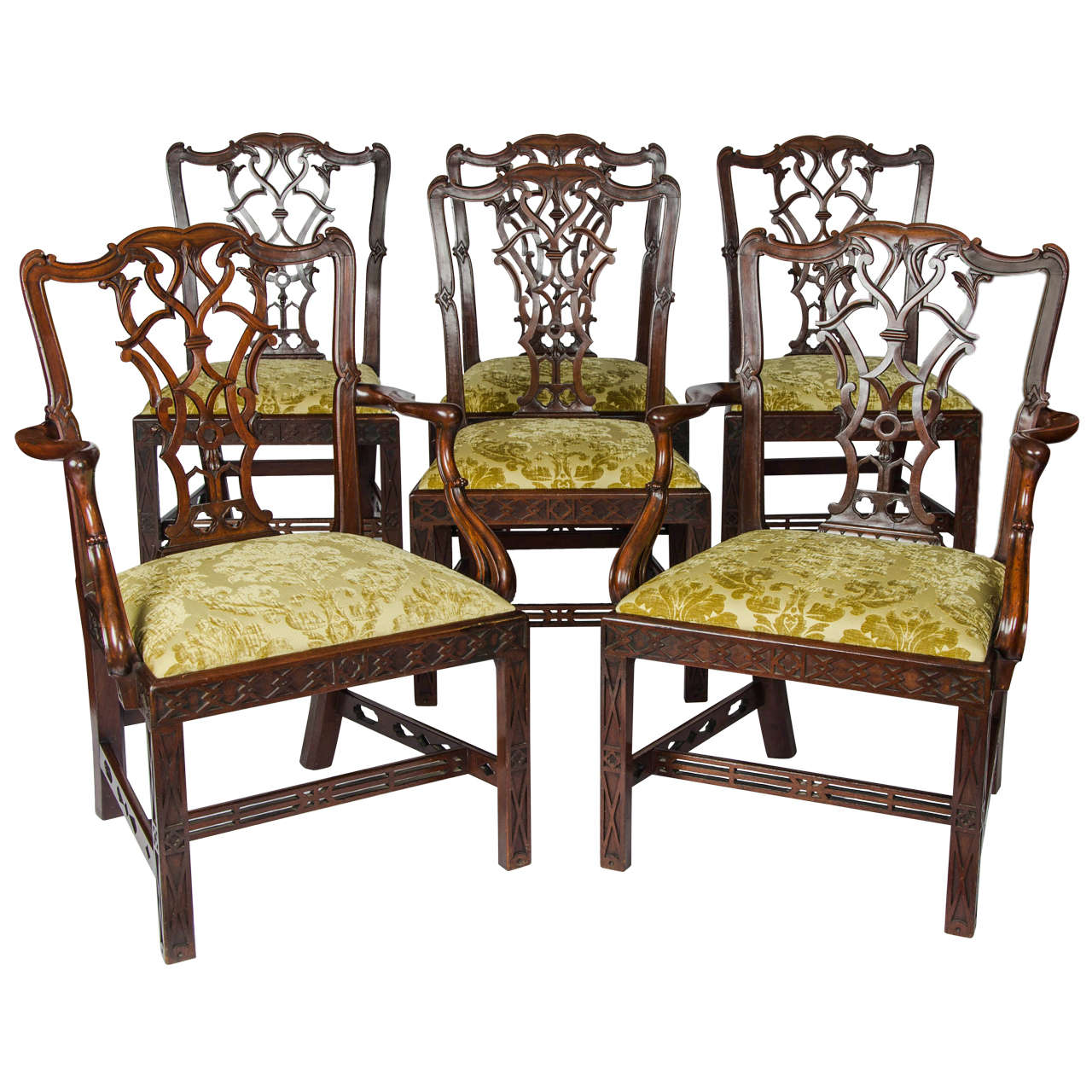 Set Of Six 19th Century Centennial Dining Chairs Dining Chairs