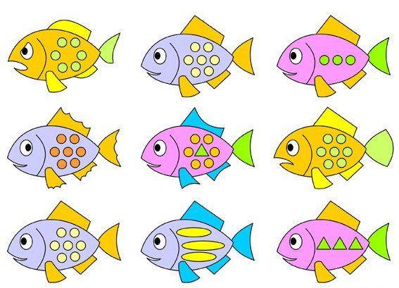 картинки рыбки рисунки
