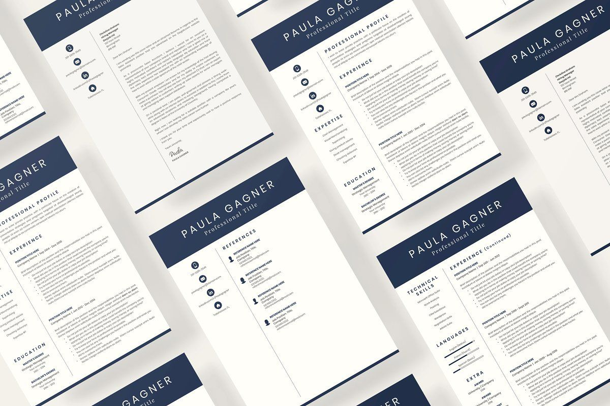 Accountant resume cv with experience in 2020 cover
