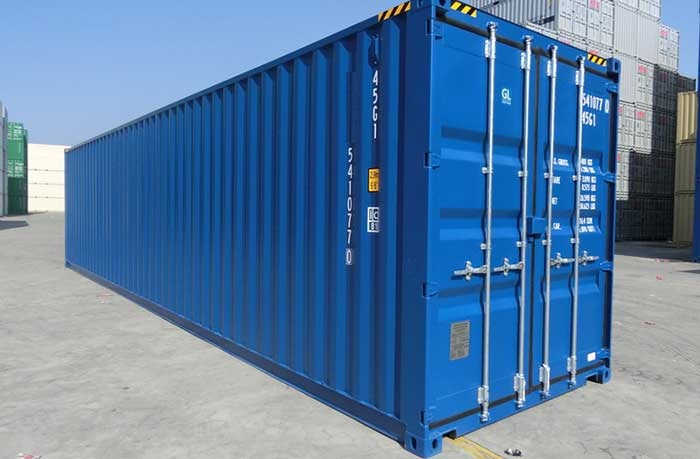 New 40ft High Cube Shipping Container Cargo Container Shipping Container Used Shipping Containers