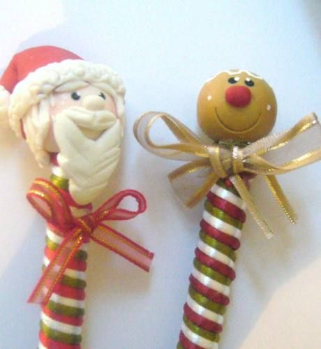 Plumas navidad borregos pasta francesa flexible recuerdos for Adornos navidenos mercadolibre