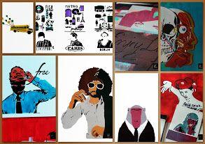 stencil samples by www.sandra-pfeil.com