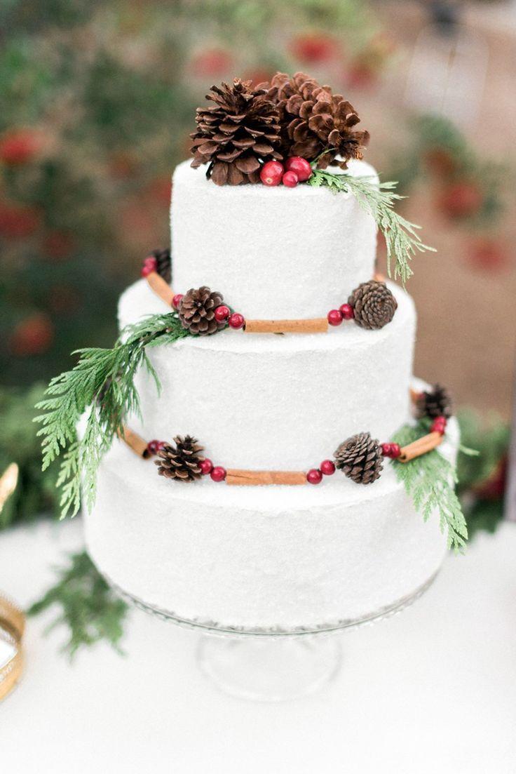 Plaid Rustic-Vintage Holiday Wedding Inspiration   Holiday wedding ...