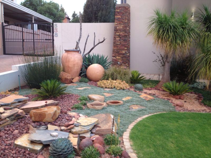 Waterwise Garden Ideal For South African Weather Waterwise Garden Garden Ideas South Africa Waterwise Landscaping