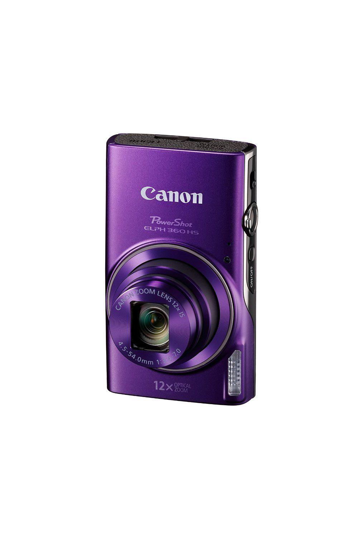 Canon PowerShot ELPH 360 HS (Purple) Canon powershot