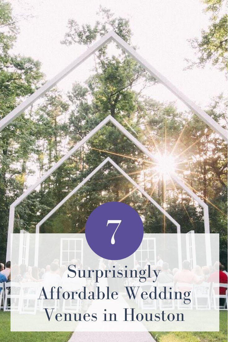 7 Surprisingly Affordable Wedding Venues in Houston Joy
