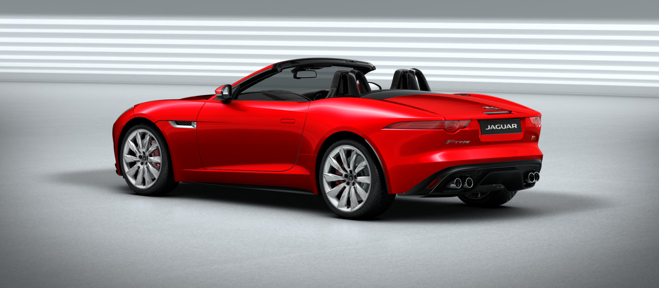 Jaguar F Type V8 S 2 Seat Convertible Sports Car