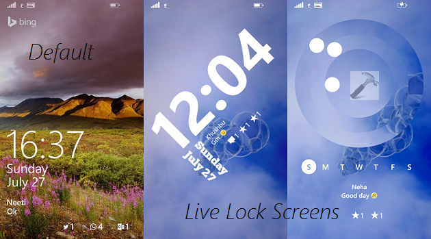 [How To] Set Live Lock Screen In Windows Phone 8.1