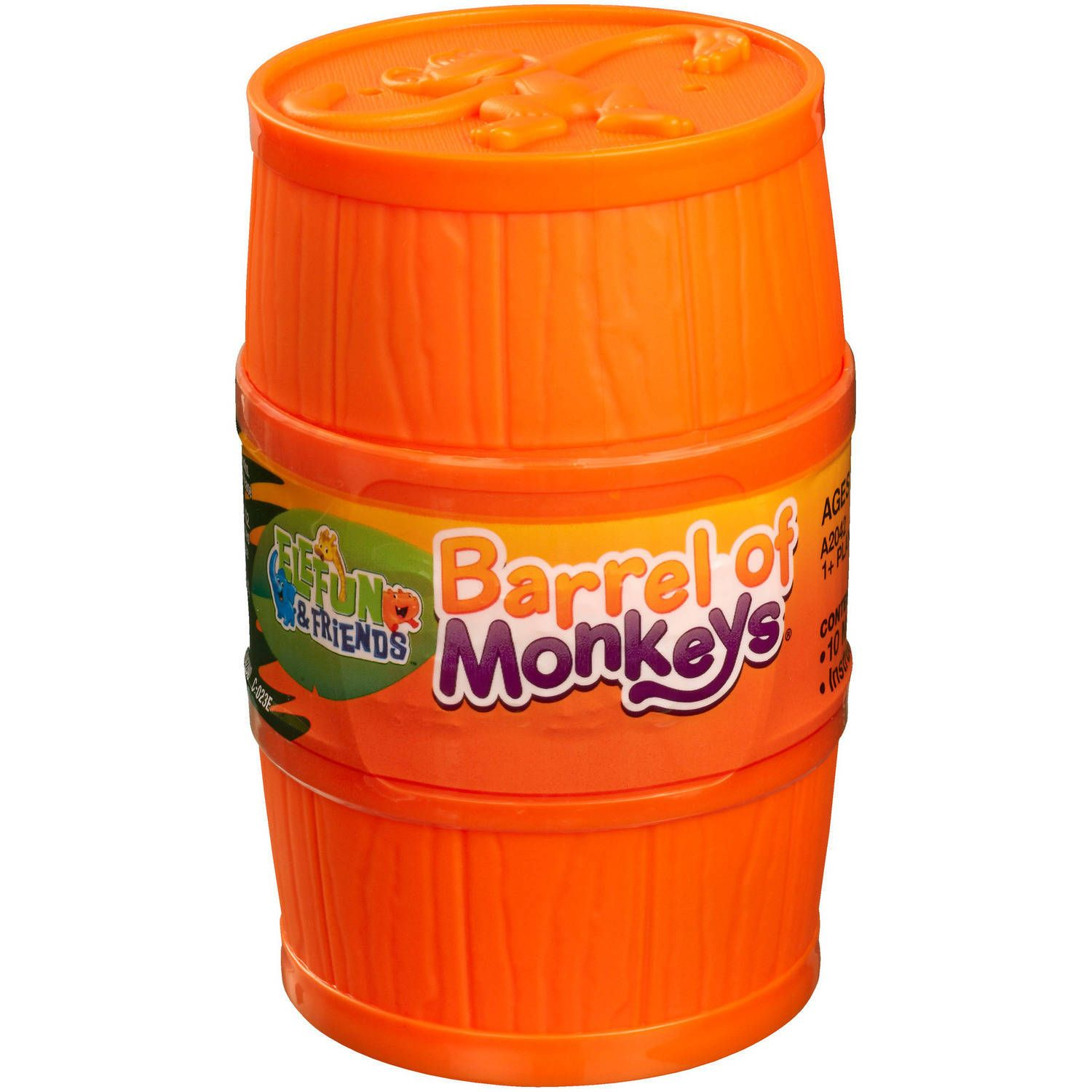 Elefun And Friends Barrel Of Monkeys Game Styles May Vary Walmart Com In 2020 Monkey Games Barrel Of Monkeys Games For Toddlers