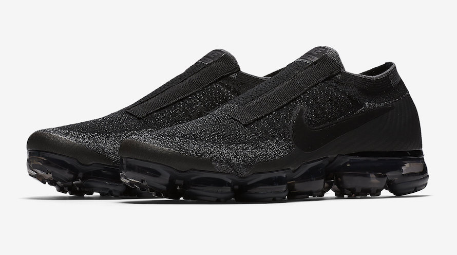 2eb44059be7f6 Release Date  Nike Air VaporMax Laceless Black Night