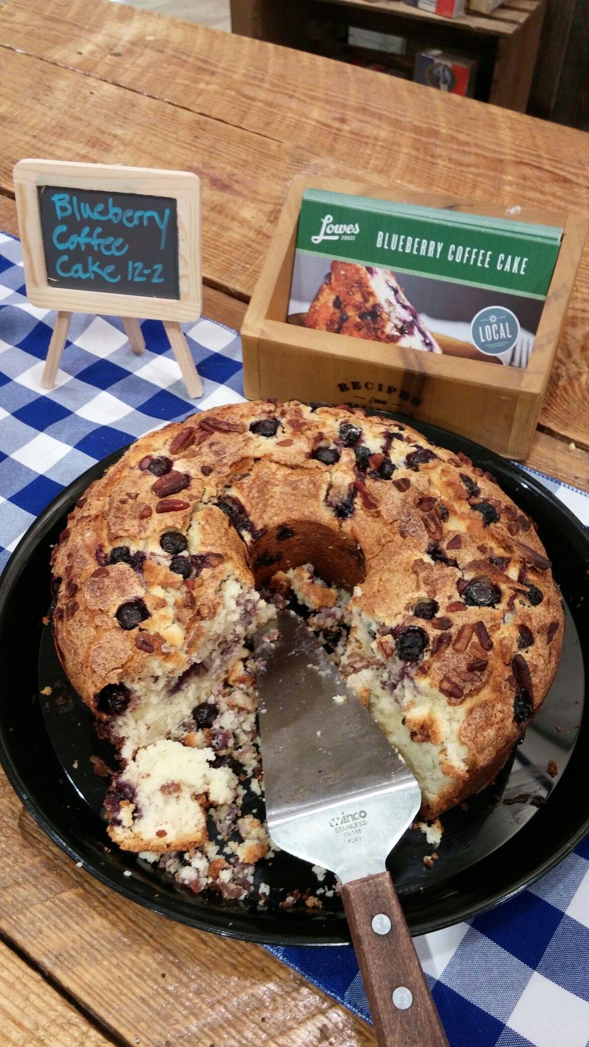 Best blueberry coffee cake recipeit definitely made it
