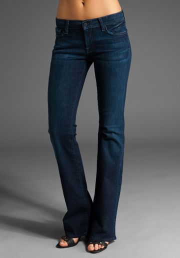 a staple in every wardrobe! 7 for all mankind bootcut, they are fantastic! I love them so much I have 4 pairs!!!