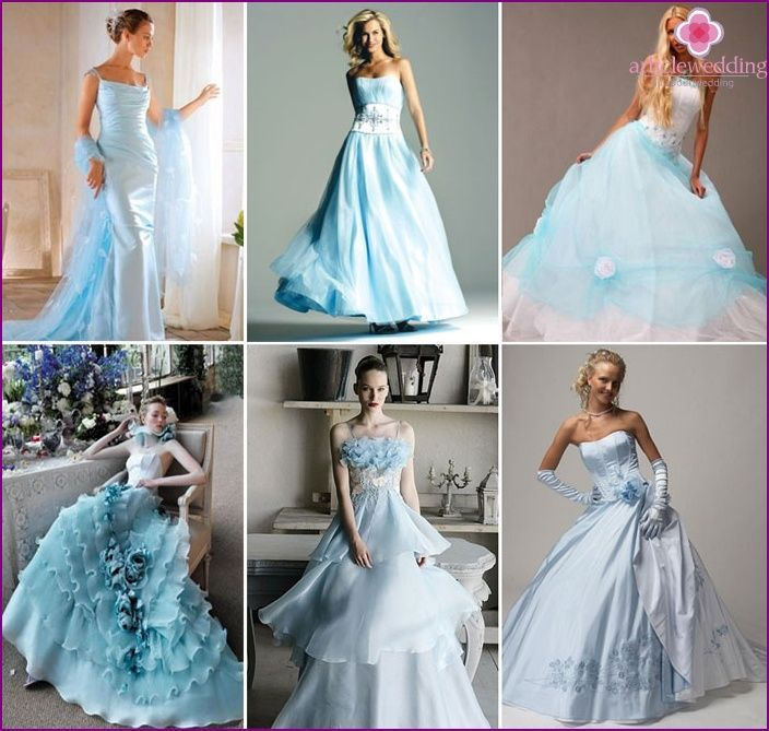 Photo of Blue Review Wedding Dresses Fashion Models and Accessories for the …- Blå gje…