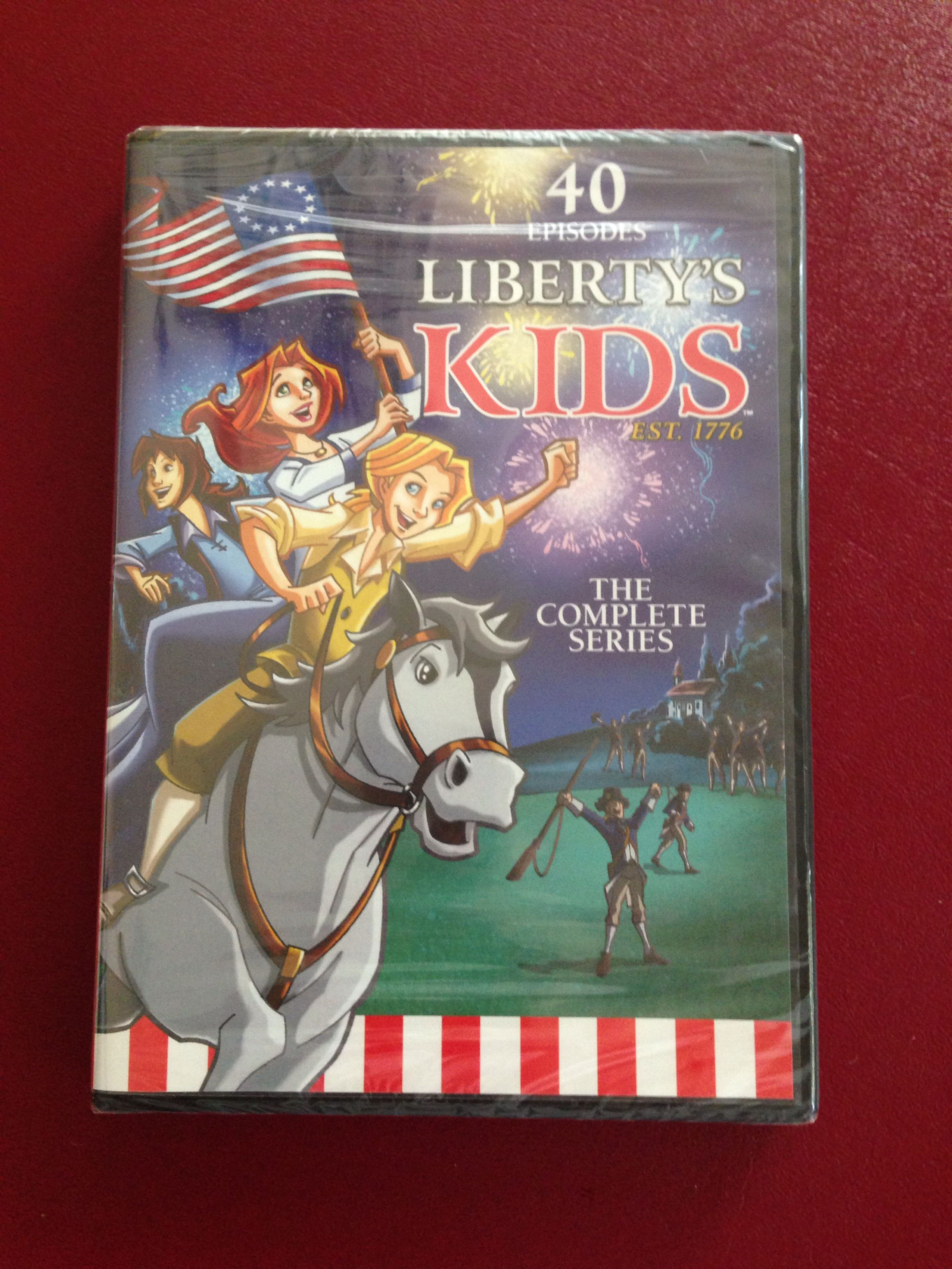 Liberty Kids The Complete Series Pbs Specials American