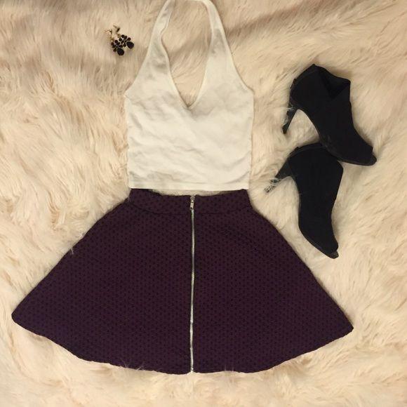 Spotted while shopping on Poshmark: Purple Skater Skirt!! #poshmark #fashion #shopping #style #Cooperative #Dresses & Skirts