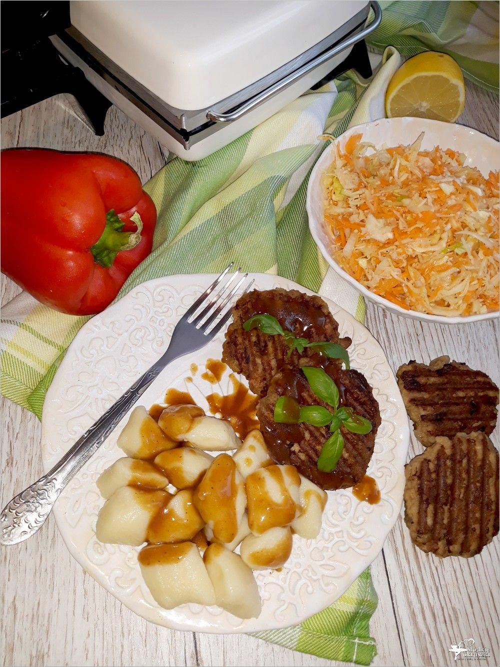 Grillowane Kotlety Mielone Z Pieczarkami Prosty Przepis Na Obiad