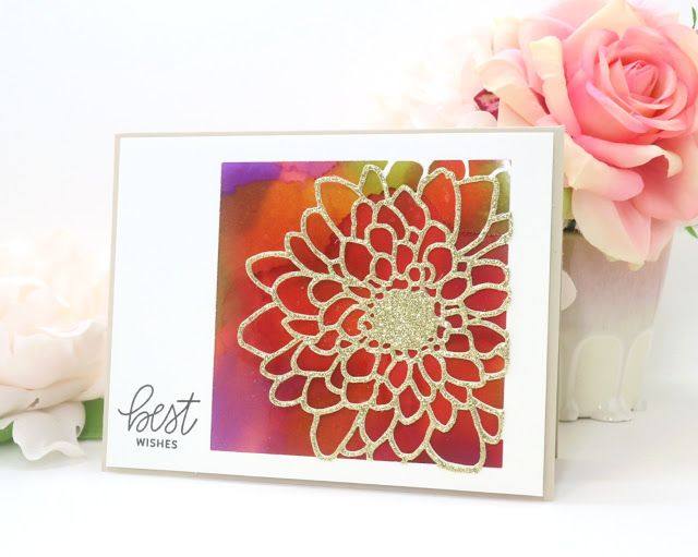 Simon Says Stamp Mum Flower Frame Wafer Dies Sssd111775 Friends