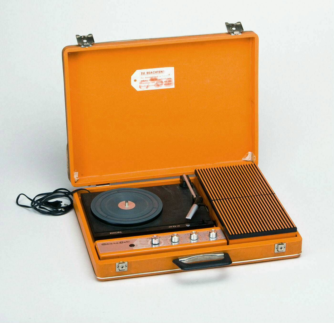 Philips Stereo Jet 003 Portable Record Player 1973