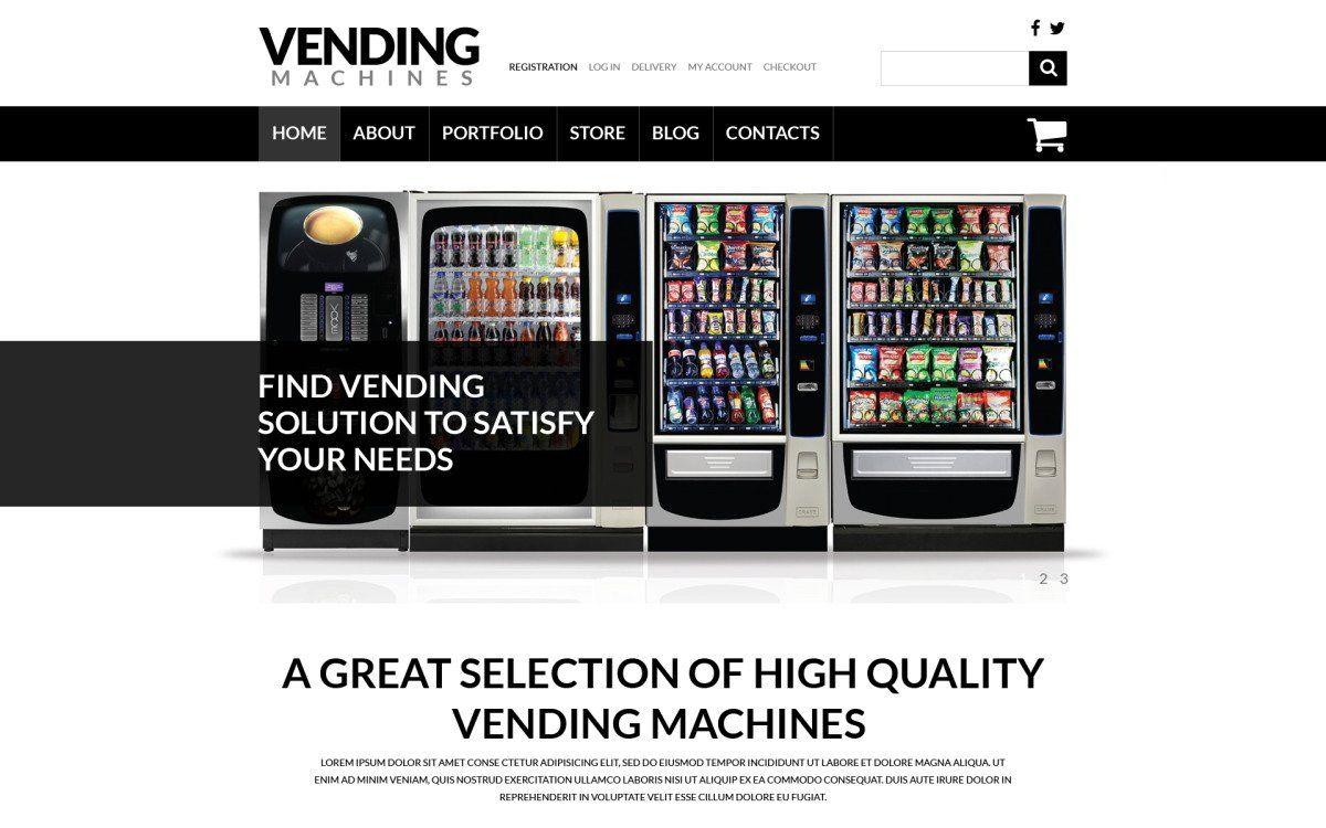 Pin on Vending machine business