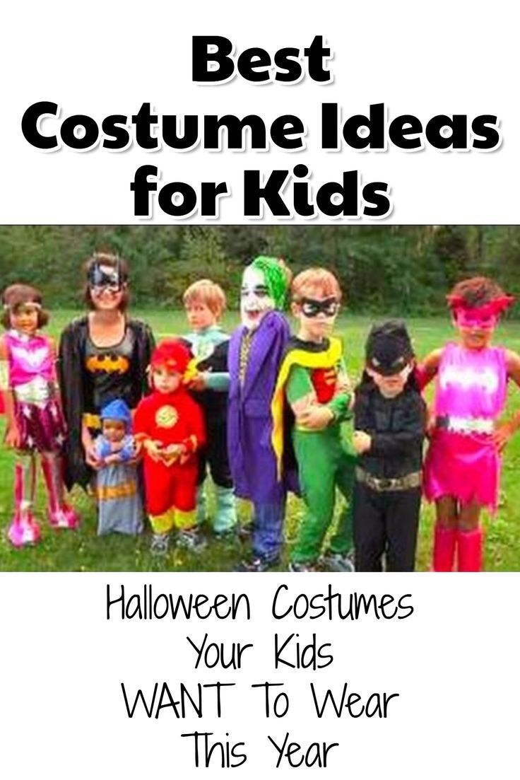 Most Popular Kid's Halloween Costumes for Halloween 2020
