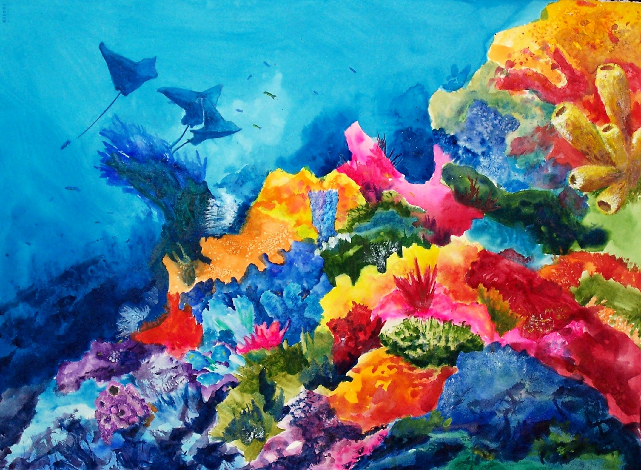 Ocean art and paintings beautiful fine art ocean paintings for Sea life paintings artists